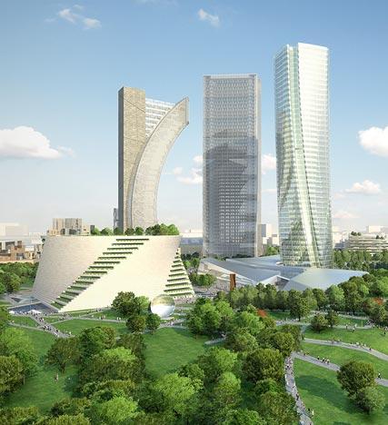 Citylife il nuovo quartiere di milano dall 39 anima verde for Quartiere city life