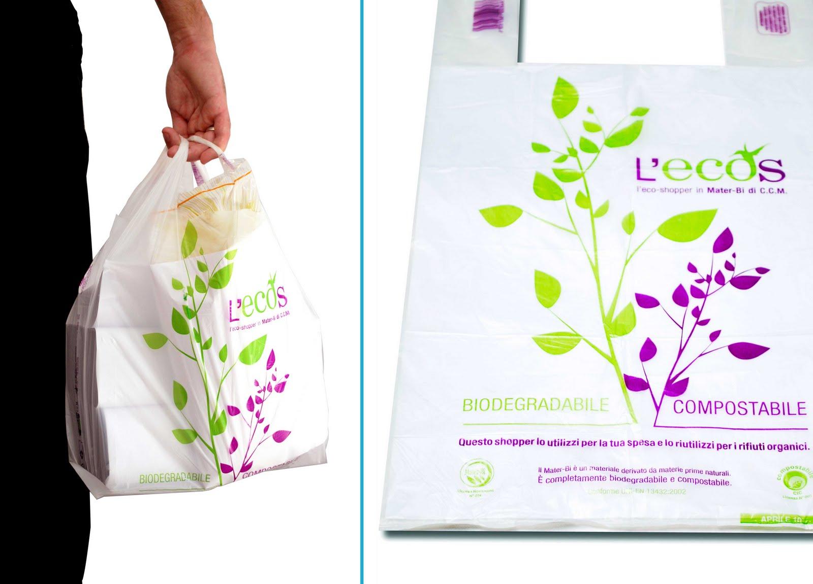 Pro e contro dei bioshopper i sacchetti ecologici in mater bi for How to be a professional shopper