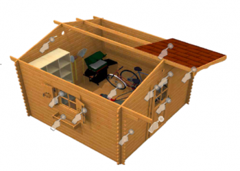 Il blog sull 39 ecologia e l 39 ambiente - Casette mobili in legno ...