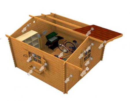 Il blog sull 39 ecologia e l 39 ambiente for Offerte casette in legno