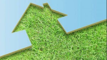 Edilizia sostenibile con materiali da costruzione provenienti da materie prime rinnovabili