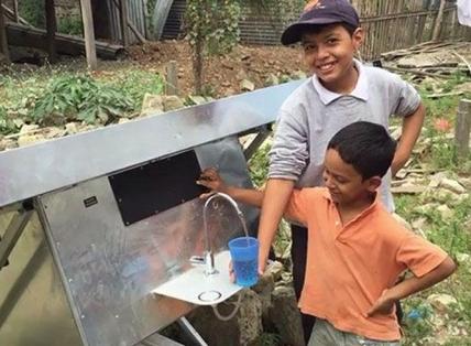Source: il pannello solare che estrae acqua potabile dall'aria