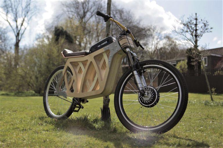 Electraply: la bicicletta elettrica in legno (pioppo e betulla)